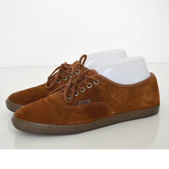 f0c30741ef22d8 VANS Authentic Lo Pro SUEDE Shoes 8.5 Brown. M 5abfd60f00450fa992466376